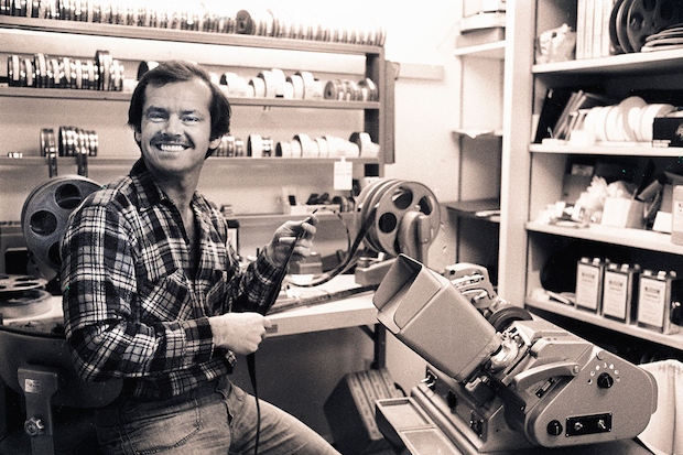 Jack Nicholson video editor