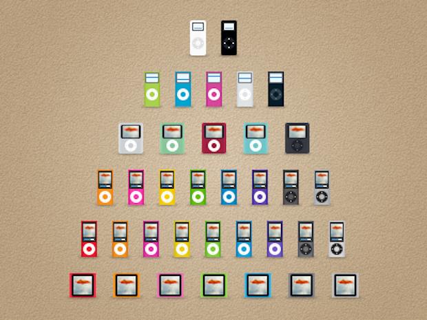 iPod nano all