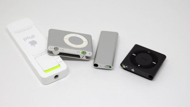 iPod shuffles